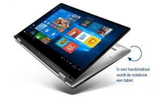 Medion Akoya E3214 (MD 61700) in tabletmodus